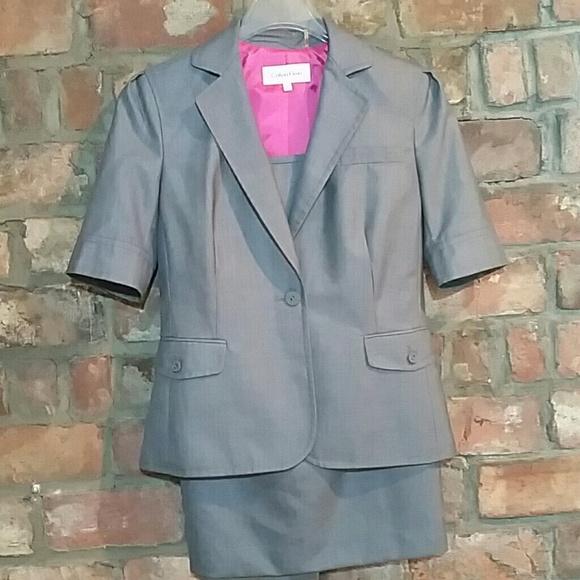 Calvin Klein Jackets & Blazers - Calvin Klein 2 piece skirt suit